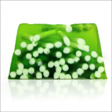 Lime & Ginger Spaghetti Aromatherapy Soap - 100g Slice