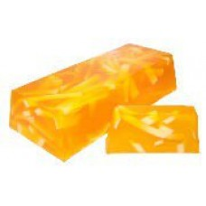 Orange Zest Aromatherapy Soap - 100g Slice