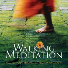 Walking Meditation, Thich Nhat Hanh - Book, CD & DVD Set