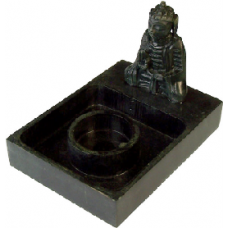 Buddha Marble/Marble Candle Holder