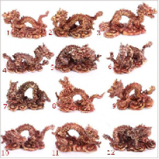 Chinese Dragon World Figures