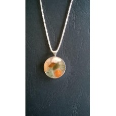 Gemstone Energy Pendant - Angelic Tranquility, Passion and Goodwill.    Reference No.A14