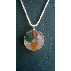 Gemstone Energy Pendant - Grounded, Compassion, Strength and Insight.  Reference No. A15