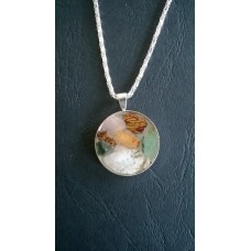 Gemstone Energy Pendant - Angelic Creativity and Balance in Life.    Reference No.A19