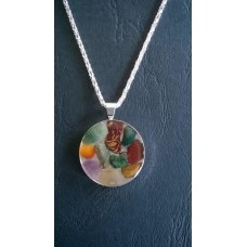 Gemstone Energy Pendant - Creativity, Strength and Harmony.    Reference No. A3