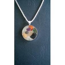 Gemstone Energy Pendant - Courage and Protection. Positive Energy. Inner calm and balance.  Reference No. A8