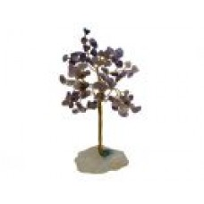 Gemstone Chip Tree - Amethyst