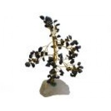 Gemstone Chip Tree - Black Agate / Onyx