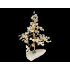 Gemstone Chip Tree - Quartz
