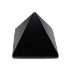 Pyramid - Black Obsidian - 35mm
