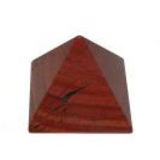 Pyramid - Red Jasper - 35mm