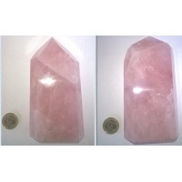 Rose Quartz Obelisk - Unique