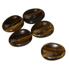 Tiger Eye Gold Worry Stone
