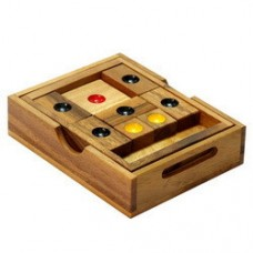 Setting Sun Wooden Puzzle