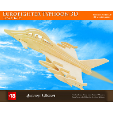 Eurofighter Typhoon Wooden 3D Puzzle