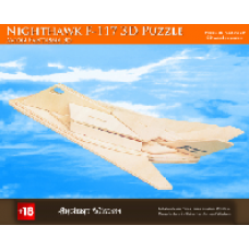 Nighthawk F-117 Wooden 3D Puzzle